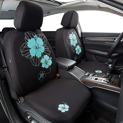 Pretty Flower Cloth Universal Sitzbezüge Passend Für Geländewagen Limousinen Vans Trucks Blau Baby