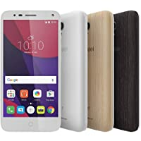 Smartphone Alcatel Pop 4 Premium Edition 5051J Branco Android 6.0 Câmera 13MP Tela 5 Inclui + 2 Cases + MicroSD 32GB