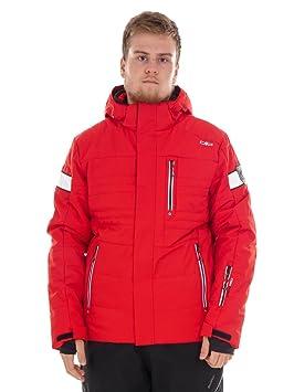 CMP - Chaqueta snowboard esquí chaqueta de invierno rojo climaprotect® WP 5000 mm 3 W03577, rojo: Amazon.es: Deportes y aire libre