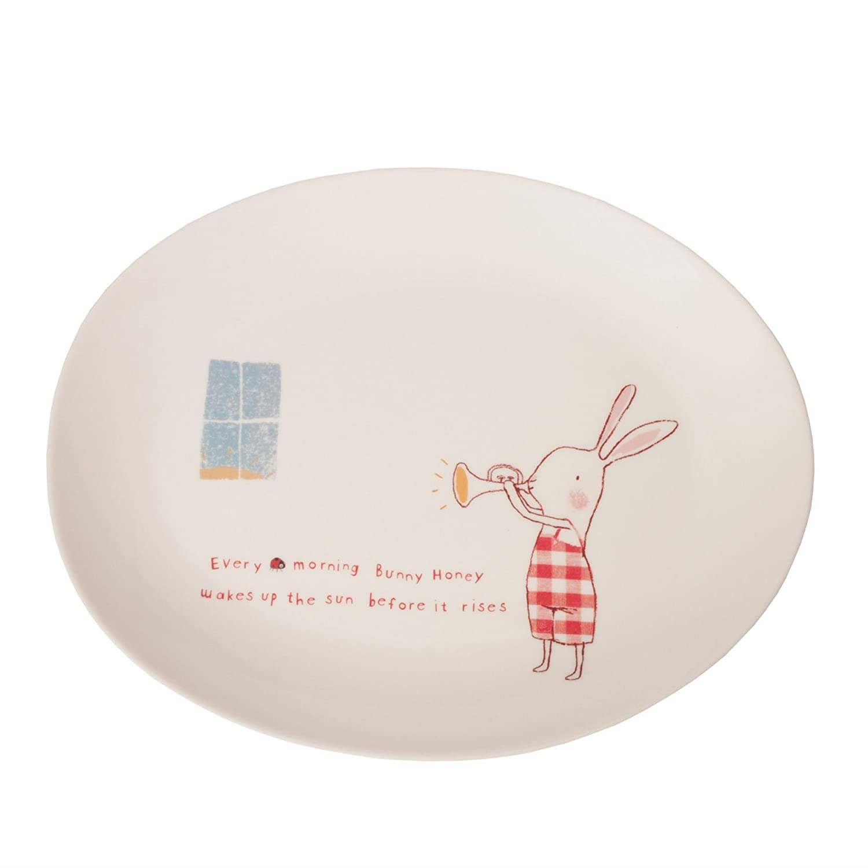 Amazon.com : Maileg Bunny Honey Melamin Set in a Box : Baby ...