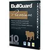 BullGuard Premium Protection 2017 - 1 Year for 10 Devices / Users - Compatible with all Windows, MAC, Android Devices