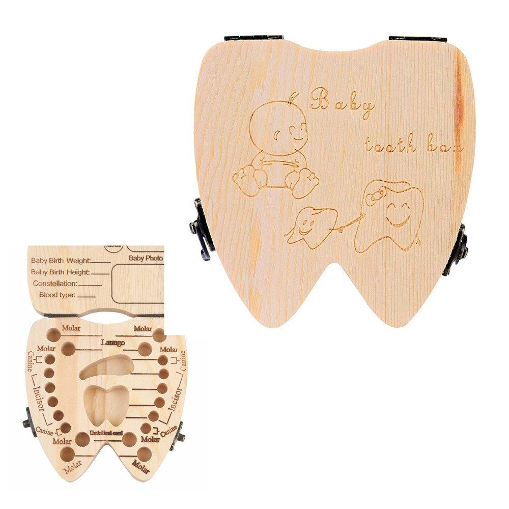Ouneed® Bebe Souvenirs! Boite de Dent Lanugo Rngement (Dent) GSY61129601