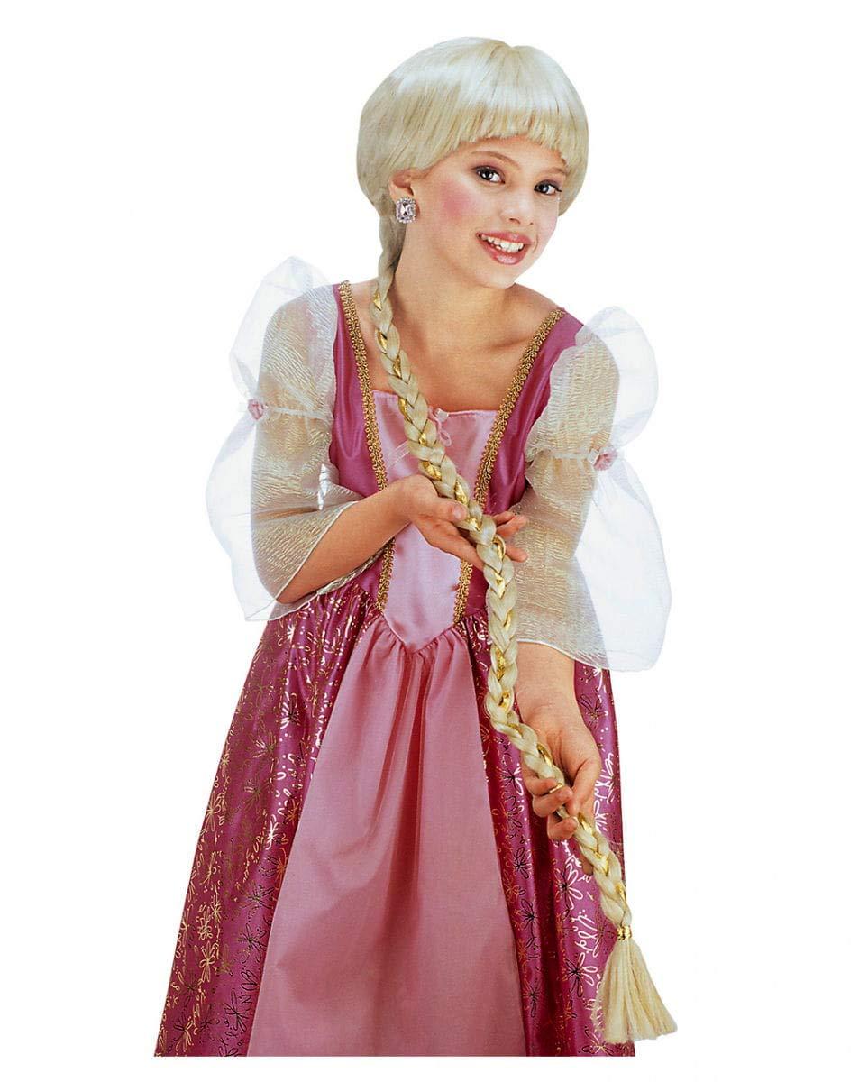Horror-Shop Raiponce enfants perruque blonde