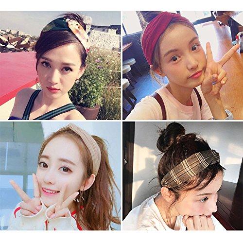 Red hair braided mesh cloth girl with short hair adult fresh face temperament retro lace scarf hip-hop head for women girl (Braided Mesh Short)