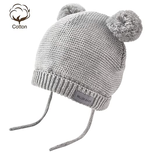 03216b2ec82 Amazon.com  Aablexema Baby Beanie Hat with Ears - Infant Toddler ...