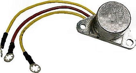 Marine Alternator Rectifier for Johnson Evinrude 6-10 Amp replaces 583408