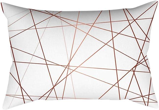 Mobast 45x45 Cm Coussin Carre Pillowcases Rose Couverture
