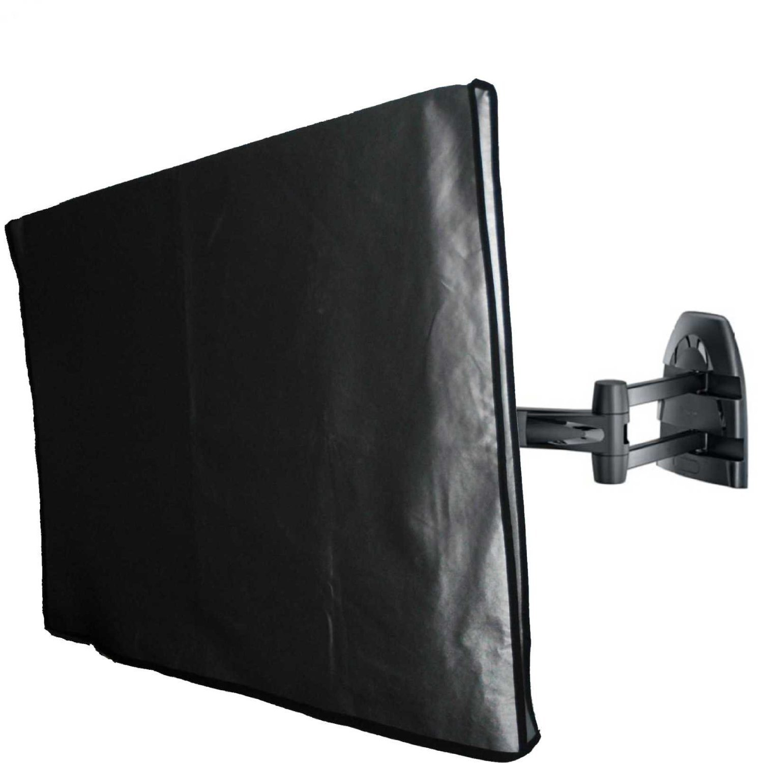 47'' Flat Panel TV Cover with pocket for Remote Vinyl Padded Dust Covers. Ideal for Outdoor Locations.