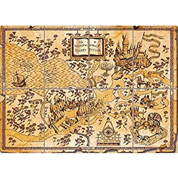 picture regarding Harry Potter Marauders Map Printable known as : MightyPrint Harry Potter (Marauders Map) Wall