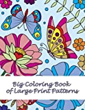 Big Coloring Book of Large Print Patterns (Premium Adult Coloring Books) (Volume 37)
