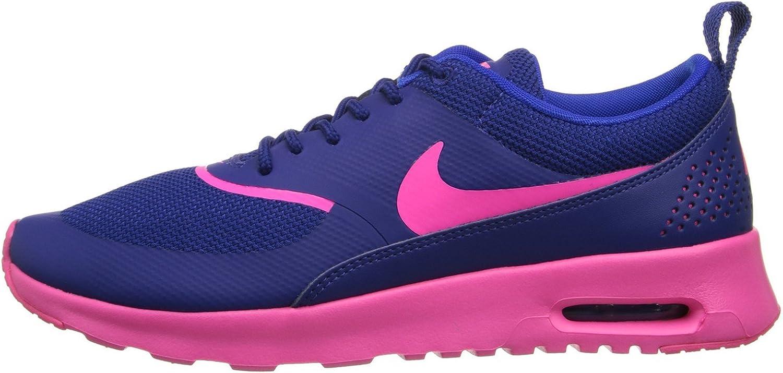 Nike Women's Air Max Thea Riftblue/Hyper Grape/Volt Running Shoe