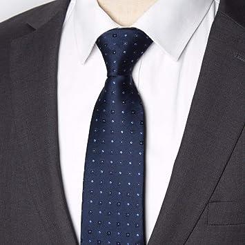 CHZDSB Corbata Hombres Corbata Business 8Cm Rayas Corbata Hombre ...