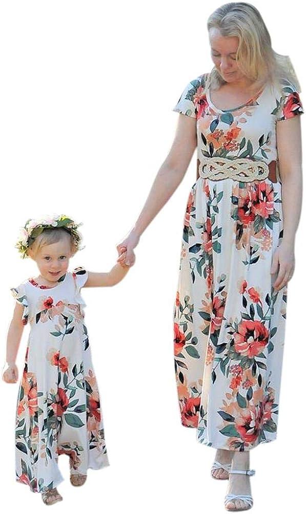 Traje de Taoytou Chid Vestido a Juego de mamá y yo Vestido de ...