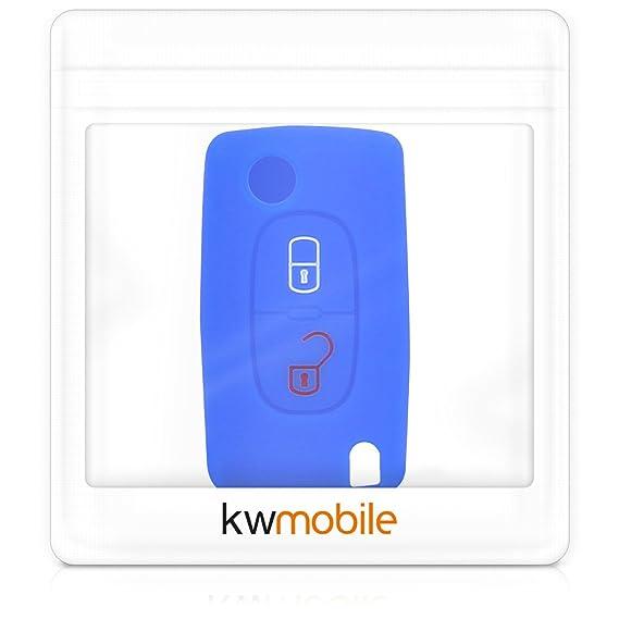 Amazon.com: Kwmobile Peugeot Citroen - Carcasa protectora de ...