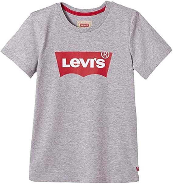 Levis Kids Nn10117 20 Short Sleeve tee-Shirt, Camiseta para Niños, Gris (China Grey, 2 años (Talla del Fabricante: 2Y): Amazon.es: Ropa y accesorios