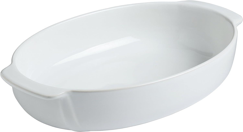 Pyrex 8013110 Signature Lot de 6 Ramequins Blanc en C/éramique /Ø 8 cm