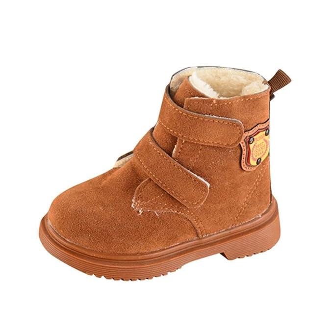Btruely Warm Kinder Stiefel Winter Warm Baby Sneaker Jungen Mädchen Beiläufig Schneeschuhe Kleinkind Schuhe