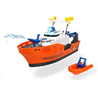 Dickie Toys 203308375 Harbour Rescue-Barco de Rescate