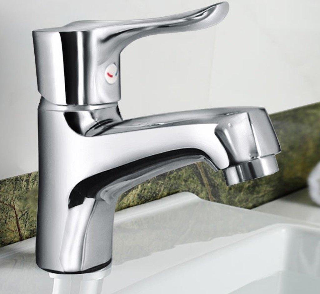 Hahn Alle Kupfer warmen und kalten Waschbecken Badezimmer-Schrank-Bassin-Hahn