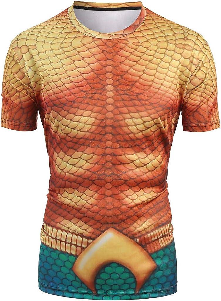 Darringls_camisetas para Hombre, Chaleco de Deporte para Hombre Camisetas Manga Corta 3D Impresas Blusa Tops Vest Tank Tops Camisas de Tirantes Hombre Moda Casual Slim Cosiendo: Amazon.es: Ropa y accesorios