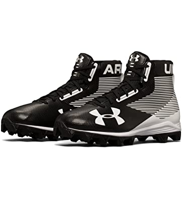 ad0eb6691c81 Amazon.com | Under Armour Men's Hammer Mid Rm Football Cleat Wide | Football