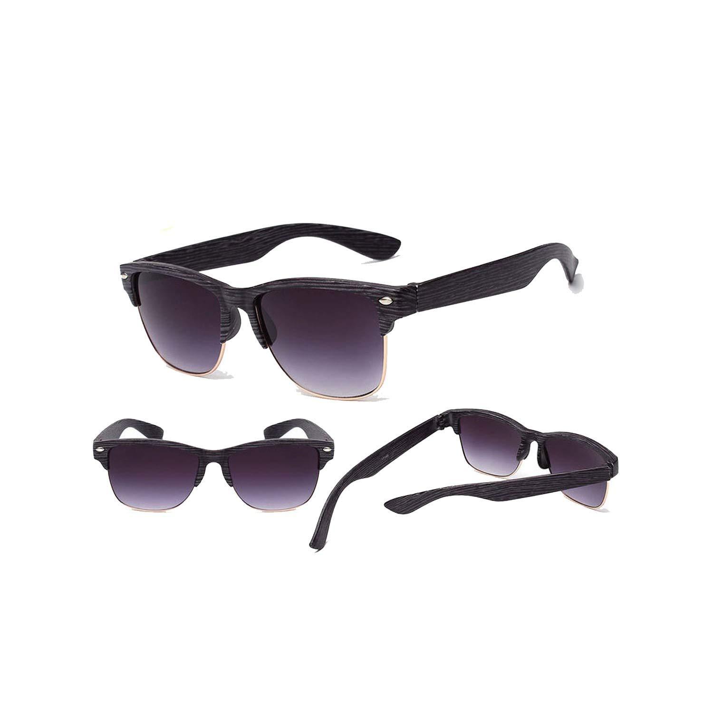 Amazon.com: Fashion Wood sunglasses for women men Auti-UV ...