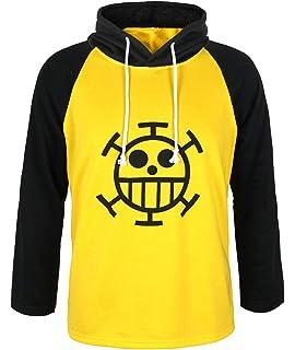 CoolChange Camiseta de Trafalgar Law con símbolo de Jolly Rogers del  equipaje de piratas Sombrero de f1be9fc0ec7