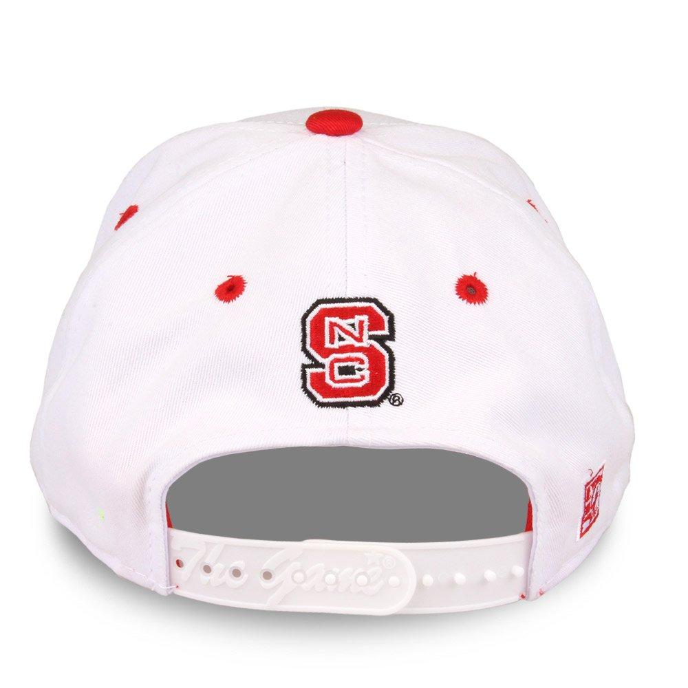 size 40 dae68 62e07 Amazon.com   NCAA North Carolina State Wolfpack Unisex NCAA The Game bar  Design Hat, White, Adjustable   Sports   Outdoors