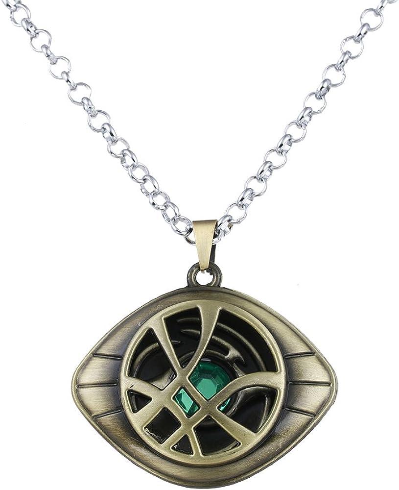 Doctor Strange Necklace Eye of Agamotto Costume Prop