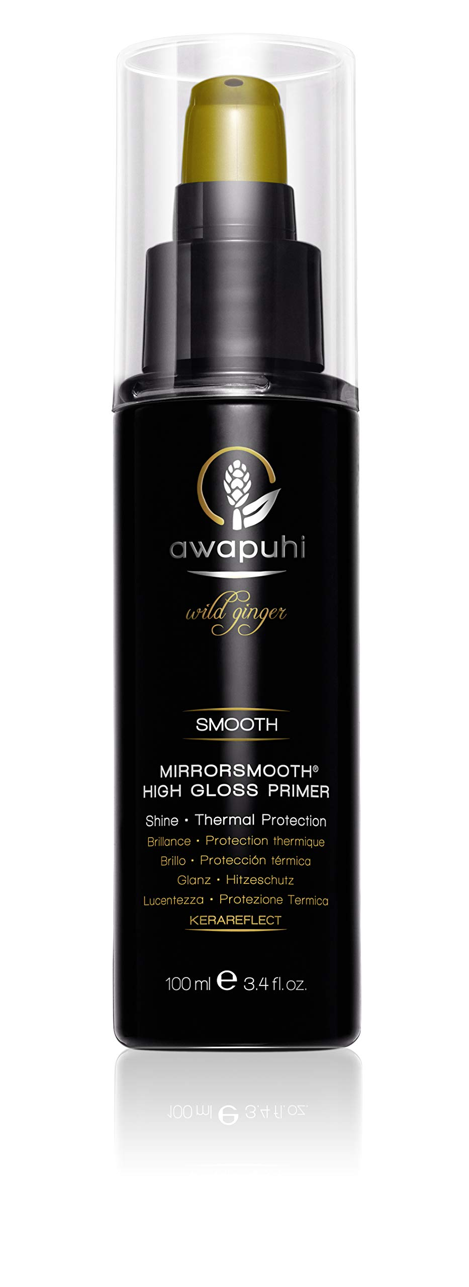 Awapuhi Wild Ginger MirrorSmooth High Gloss Primer, 3.4 Fl Oz by Awapuhi Wild Ginger