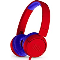 JBL JBLJR300REDAM On-Ear Wired Kids Headphones