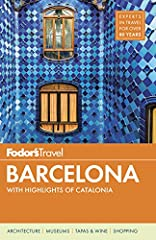 Written by locals, Fodor's travel guides have been offering expert advice for all tastes and budgets for over 80 years. Barcelona is a top European destination for American travelers, and this stunning full-color guide covers the city's bigge...