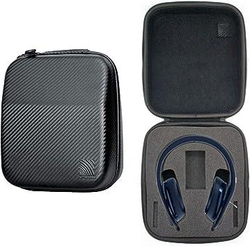 NiceCool - Funda rígida para auriculares inalámbricos Sony PlayStation 4 Platinum – Compatible con auriculares estéreo inalámbricos Sony PlayStation 2.0, Dongle, bolsa de transporte para cables (negro): Amazon.es: Electrónica