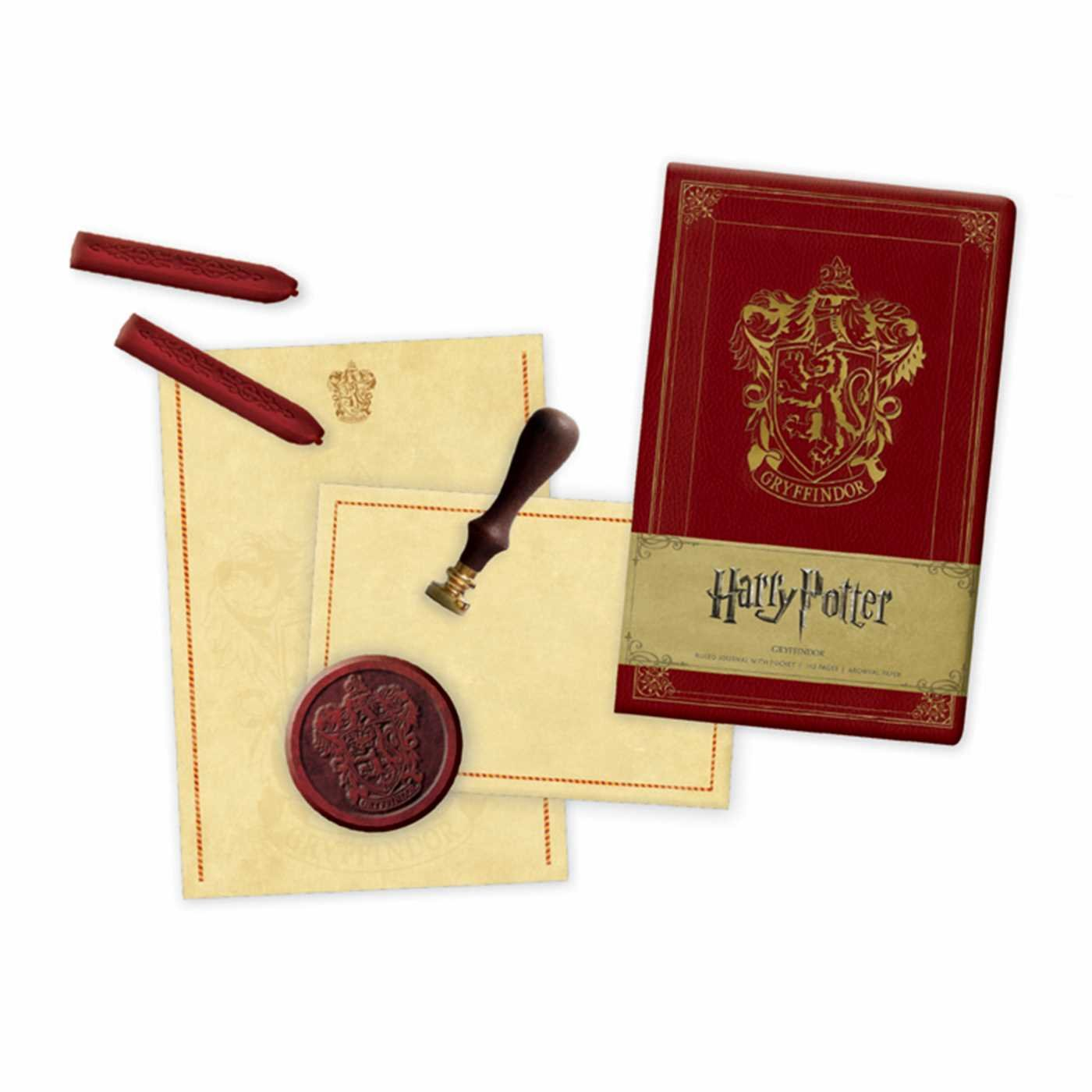 Harry Potter: Gryffindor Deluxe Stationery Set (Insights ...