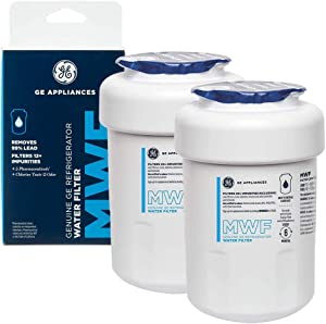 MWF Water Filter GE Refrigerator Replacement GE MWF Smartwater Filter 2-Pack