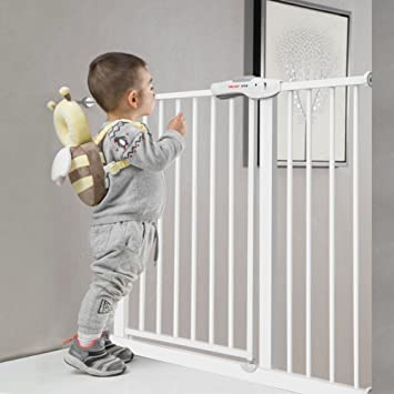 Amazon Com Extra Wide Indoor Safety Gates Baby Gate Fits Spaces