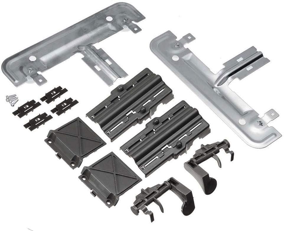 Compatible Adjuster Replacement Kit Metal Rack for Kenmore 665.13692N411, Whirlpool WDT730PAHZ0, Kenmore 665.13269K114, Kenmore 665.13543N411, Kenmore 665.13362K110 Dishwasher's