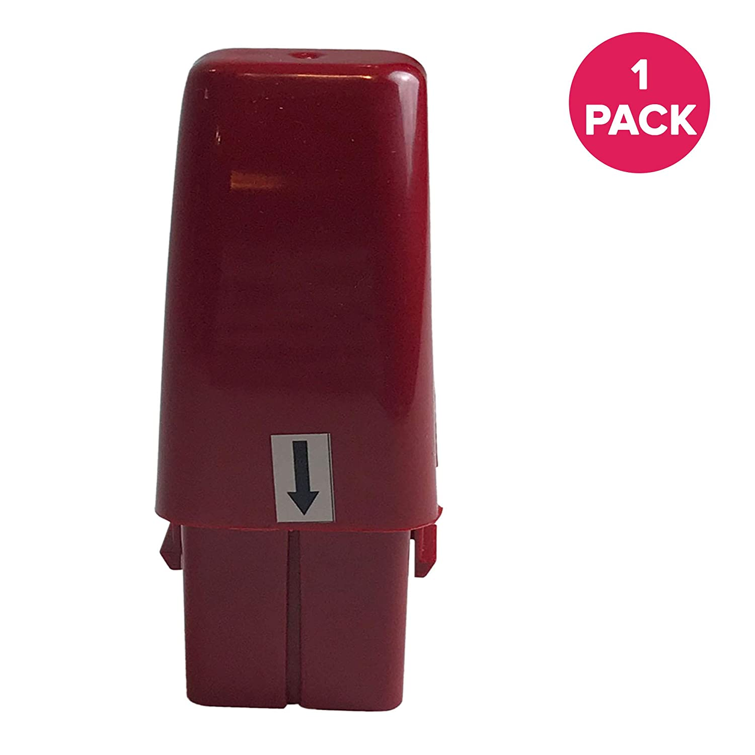 Think Crucial Replacement for Ontel Red 7.2V Ni-MH Battery Fits G1 & G2 Series Swivel Sweeper, Compatible with Part # RU-RBG, Long Lasting & Rechargeable
