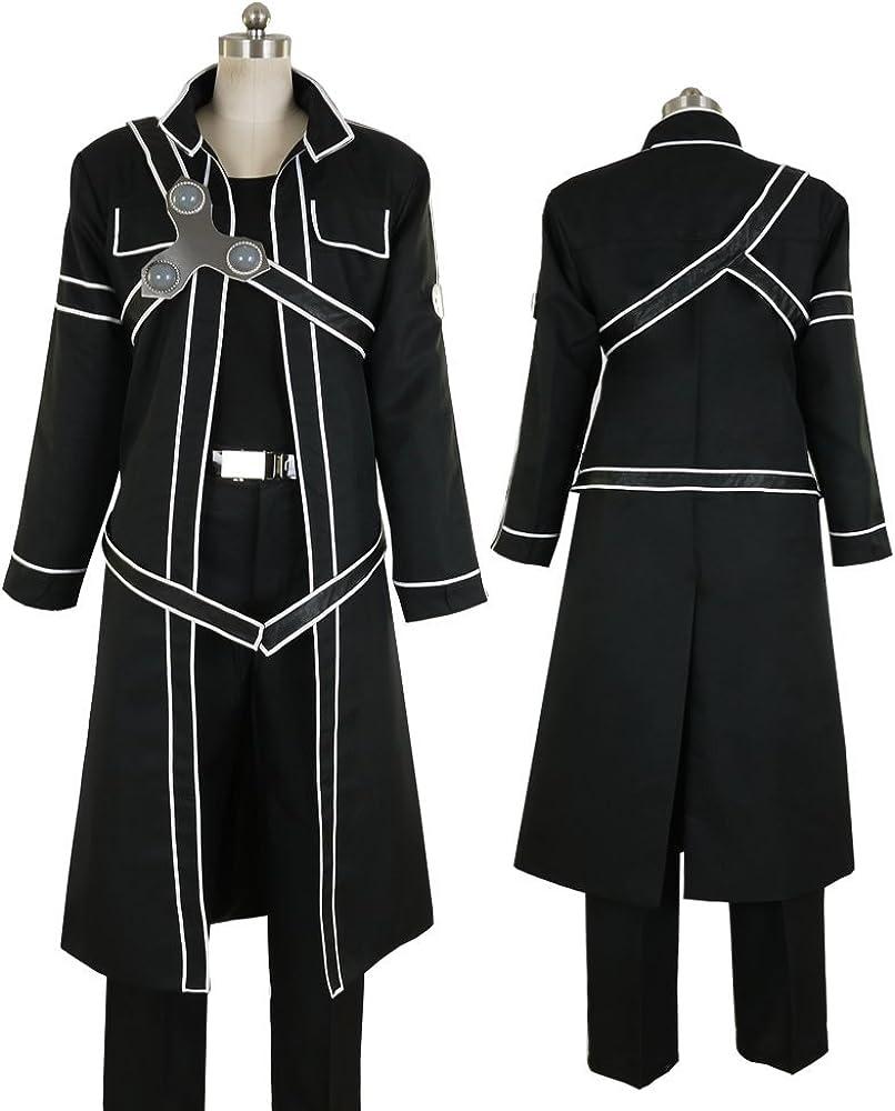 2cc47182d33a3 Men's Sword Art Online Kirito Cosplay Costume