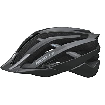 Scott Vanish EVO MTB CE - Casco de ciclismo para adulto negro Negro mate/gris