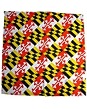Route One Apparel | Maryland Flag Bandana 22 x 22 Inches