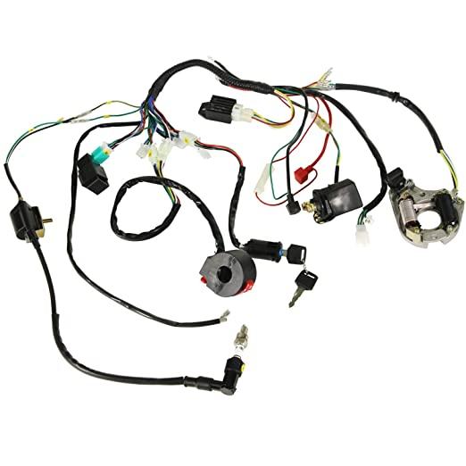Amazon Com Auutoo Complete Electrics Wiring Harness Coil Cdi Stator