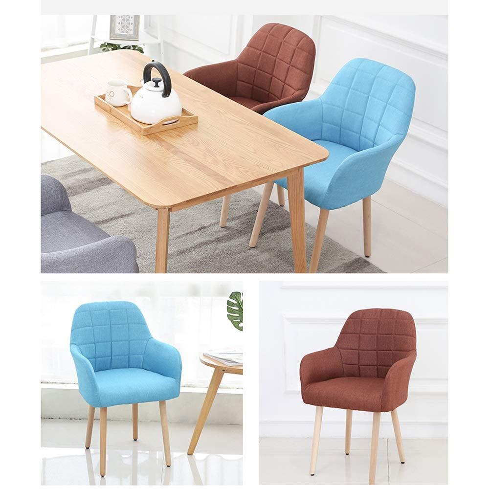 Amazon.com - LJFYXZ Modern Design Dining Chairs Lazy Sofa ...
