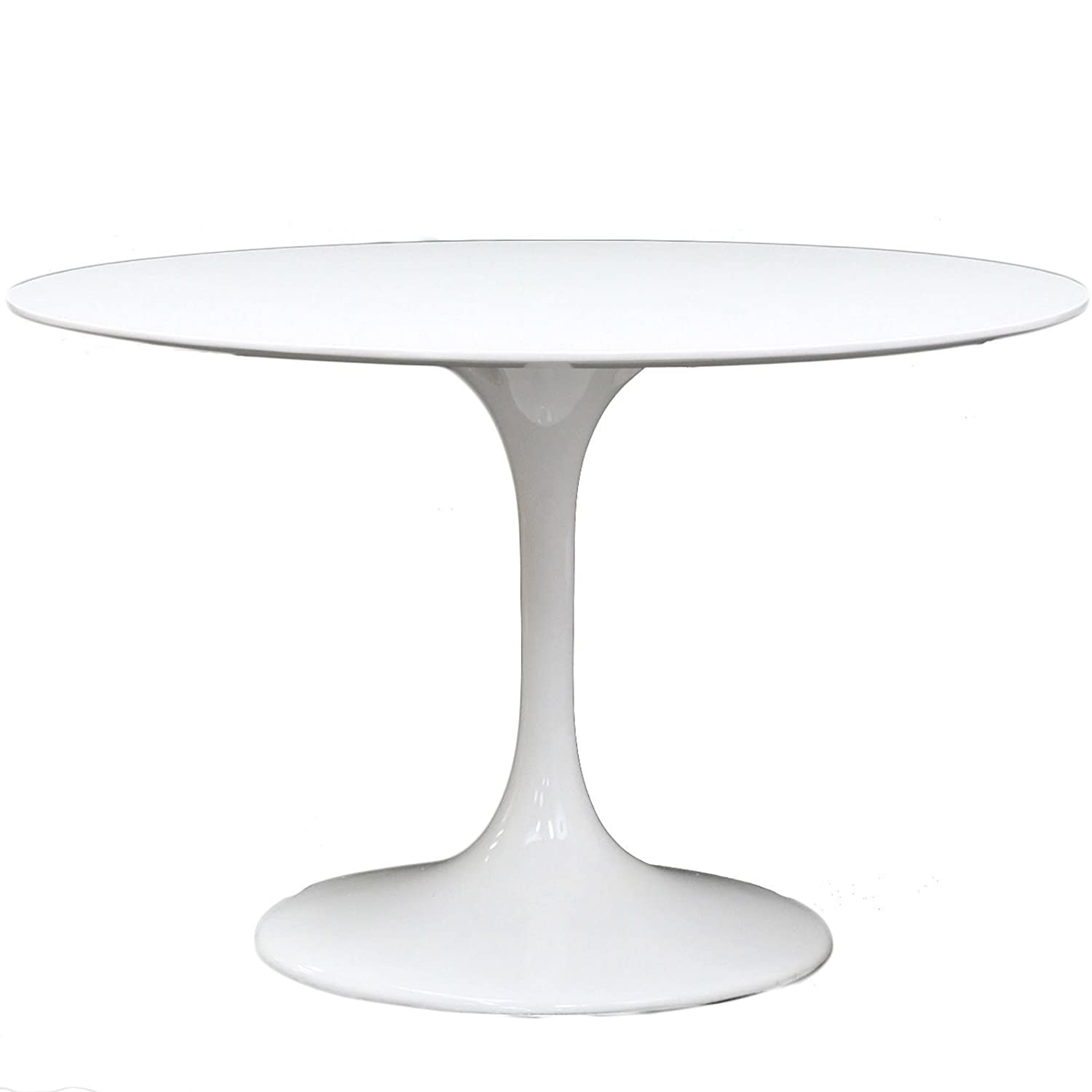 Amazoncom Modway Eero Saarinen Style Tulip Dining Table - Oval tulip table reproduction