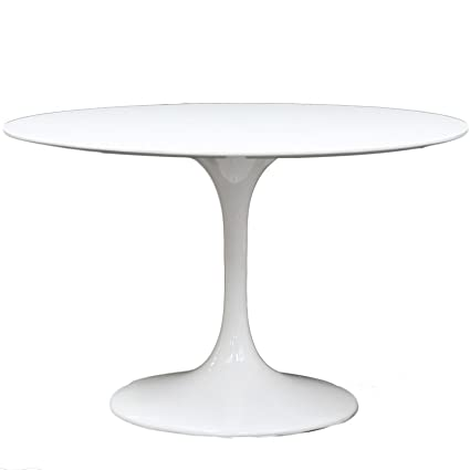 Amazoncom Modway Eero Saarinen Style Tulip Dining Table - Eero saarinen tulip table and chairs