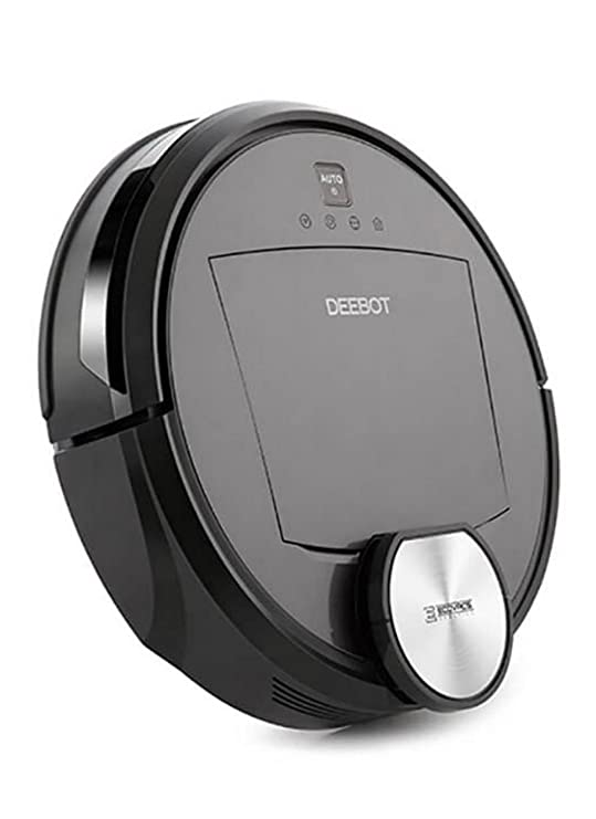 Ecovacs DEEBOT R96 aspiradora robotizada Bolsa para el polvo Negro 0,4 L - Aspiradoras robotizadas (Bolsa para el polvo, Negro, Alrededor, 0,4 L, 69,5 dB, ...