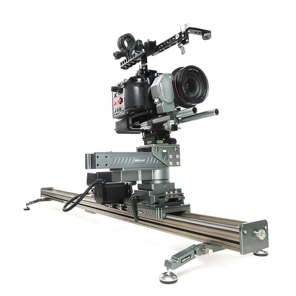 ASXMOV-G3 130cm aluminum alloy timelapse track dolly motorized video camera slider for sony for cannon dslr cameras   B07477SXDJ