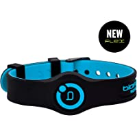 New Bioflow Sport Flex Adjustable Magnetic Therapy Wristband - Black/Blue