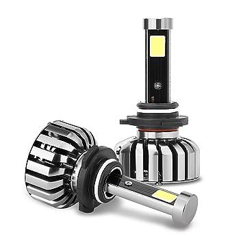 Eaglerich LED Headlight Bulbs Conversion Kit-9006 Cob 80w 8000lm 6000K Cool White,50,000