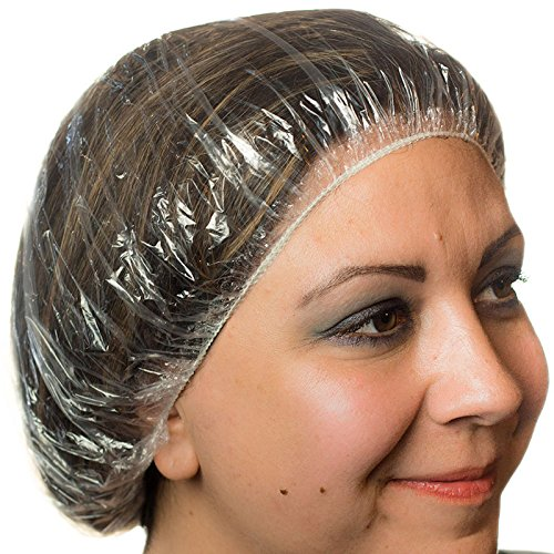Rofson SC100 Shower Cap Clear Poly - 1000/Cs (10 x 100), Not Applicable by Rofson